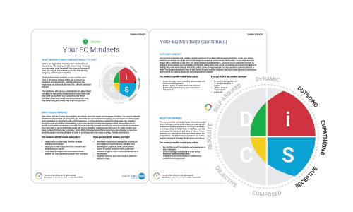 Everything DiSC Agile EQ Profile Report